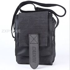 Small Walkabout Shoulder Messenger Camera Bag For Canon EOS 70D 60D 60Da 7D 6D