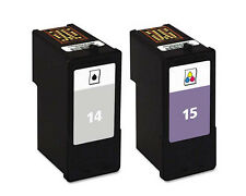 Lexmark No 14 & 15 Compatible Z2310 Z2320 Printer Ink Cartridges