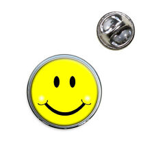 Happy Smiley Face Lapel Hat Tie Pin Tack
