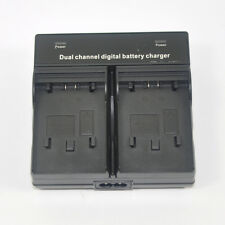 Dual Battery Charger for JVC Everio BN-VG107 BN-VG121 GZ-HM570 HM650 HM655 HM960