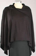 New Japanese Weekend Maternity Nursing Jersey Poncho Coat Cape S/M/L 2-16 Jacket