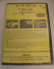 M14 RIFLE 7.62 cal  NATIONAL ARCHIVE COMPILED TRAINGING FILM  DVD  NEW  M-14 GUN