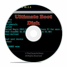 BOOT, RESTORE, FORMAT DISK, FOR ALL COMPUTERS PCS, HARD DISK DIAGNOSTICS TOOLS