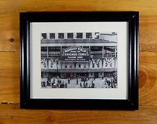 WRIGLEY FIELD - ICONIC BALLPARK DURING 1945 WORLD SERIES - VINTAGE SPORTS ART