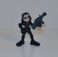 "2008 The Baroness Cobra 2.25"" Hasbro Combat Heroes G.I. Joe Action Figure"