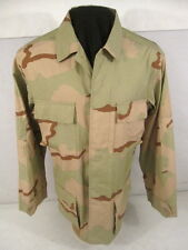 US Army 3-Color Desert Camouflage Uniform BDU Coat or Shirt - Size Small/Regular