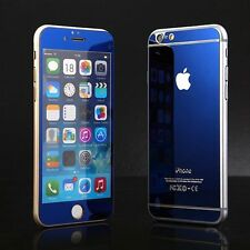 Colored Tempered Glass Screen Protector For Apple iPhone 6 6 Plus 5 5S 5c 4 4S