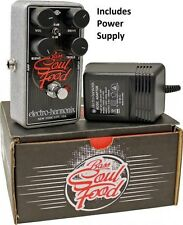 New Electro-Harmonix EHX Bass Soul Food Distortion Fuzz Overdrive Effects Pedal
