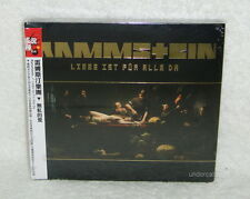 Rammstein Liebe Ist Fur Alle Da Taiwan CD w/OBI [Digipak]