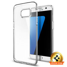 Spigen® Samsung Galaxy S7 Edge [Liquid Crystal] TPU Clear Cover Ultra Slim Cover