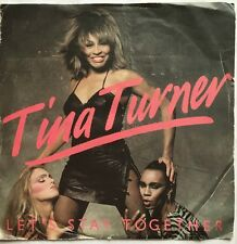 "Tina Turner - Let's Stay Together - Capitol Records 7"" Picture Sleeve Single"