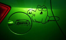 Le chat de simon Simons Cat Kitten  Fun Sticker Essence Auto Aufkleber ravitail