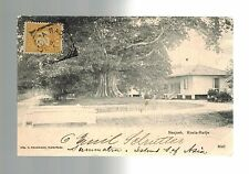 1906 Sumatra Netherlands Indies to Taunton MA USA Real Picture Postcard Cover