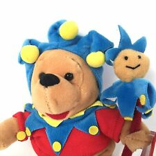 Jester Winnie The Pooh 8in Plush Mini Disney Store Bear Court Joker Medieval Fun