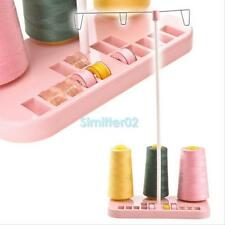 Sewing Machine Adjustable Embroidery 3 Thread Spools Holder Stand Rack Hobbin S2