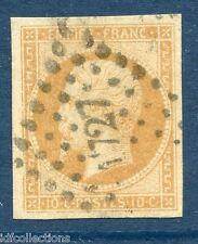 Classique France Napoléon N°13Aa nuance jaune citron TB