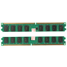 4GB 2x2GB PC2 5300 DDR2 667 MHZ DIMM DESKTOP MEMORY RAM 240 PIN FIT INTEL AMD