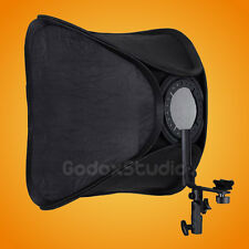 "24""x24"" / 60x60cm Folding Speedlite Flash Speedlight Softbox w/ Mounting Bracket"