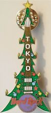 Hard Rock Cafe TOKYO 2001 CHRISTMAS PIN Tree Guitar Lights Ornaments HRC #24385