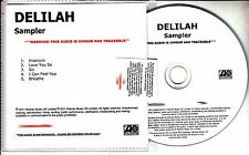 DELILAH From The Roots Up: Sampler 2011 UK numbered 5-track promo only CD
