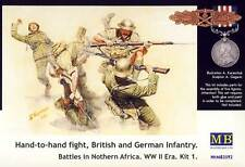 MB MasterBox - Hand-to-Hand fight British German Infantry - 1:35 Modell-Bausatz