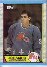 1989-90 Topps QUEBEC NORDIQUES Team Set (5) JOE SAKIC Rookie / PAUL STASTNY +