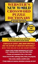 Webster's New World Crossword Puzzle Dictionary by Jane Shaw Whitfield (2003,...