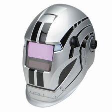 Variable Auto Darkening Welding Helmet Metal Head Design 1/25,000 second change!