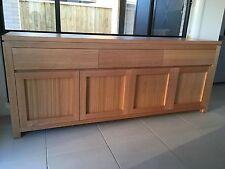 Australian Made Tasmanian Oak Hardwood Timber Veromont Buffet Side Board