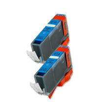 2 CYAN Ink Cartridge for Canon Printer CLI-221C MP560 MP620 MP640 iP4700 MX860