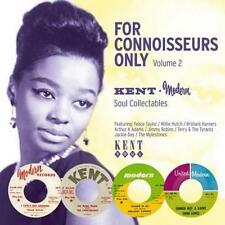 FOR CONNOISSEURS ONLY VOLUME 2 Various NEW & SEALED NORTHERN SOUL CD (KENT) R&B