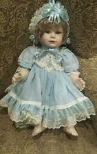 "POLLY 24"" Porcelain Cloth Thelma Resch Toddler baby girl doll"