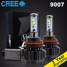 9007 HB5 CREE LED Headlight Kit 80W 7200LM Car Conversion Light Bulb White 6000K