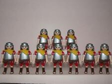 playmobil 10 Lion Heads Roman Figures Leader Spear Sword Cubs New Rare Lot 2
