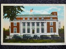 1930's Post Office & Government Building in Spartanburg, SC South Carolina PC