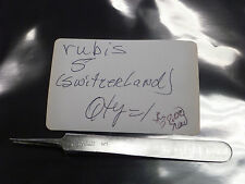 Rubis 5 Stainless Magnetic Tweezer (made in Switzerland)