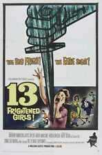 13 Frightened Girls Poster 01 A2 Box Canvas Print