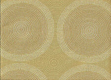Arc/com Shibori Pebble  Woven Modern Contemporary Circles  Upholstery Fabric