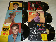 ELVIS RECORD LOT SINGS FLAMING STAR IN PERSON HOTEL VEGAS NEVADA POT LUCK VICTOR