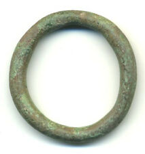 "Authentic (1.13"", 7.8g.) Celtic ring money, 800-500 Bc"