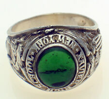 Vintage Xavier High School New York Sterling Silver Gents Mens Ring Size 12.75 Z