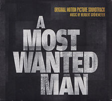 A MOST WANTED MAN - CD - ORIGINAL SOUNDTRACK - Music:Herbert Grönemeyer  ( Neu )