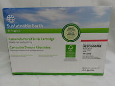 NEW SUSTAINABLE EARTH BY STAPLES SEB3600MR HP Q6473A TONER CARTRIDGE (MAGENTA)