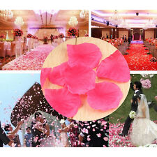 100pcs Rose Red Silk Flower Rose Petals Romantic Wedding Party Table Decorations