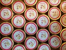 Personalised Chocolates weddings christenings communions  birthdays (set of 70)