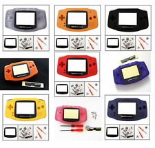 GBA Nintendo Game Boy Advance Housing Shell Screen Pick A Color (Lot of 5)