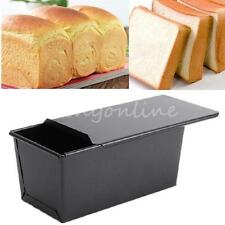 Rectangle Nonstick Box Loaf Tin Kitchen Pastry Bread Cake Baking Pan Bakeware