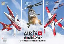 BUCH AIR14, 50 YEARS PATR. SUISSE, 25 YEARS PC-7 TEAM, 100 YEARS SWISS AIR FORCE