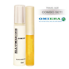 Omiera Labs 2pc Set Anti Dark Circles Brightening Serum + Eyelash Growth Serum