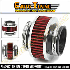 "2.75"" 70mm Cold Air Intake Universal ByPass Valve Filter RED VW"